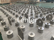 Desalination SS316L 50mm Pressure Ion Exchanger Nozzles